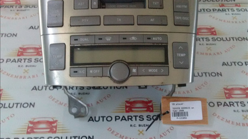 CD player TOYOTA AVENSIS 2003-2008