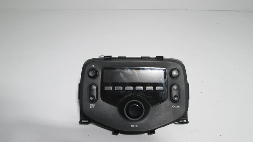 CD Player Toyota Aygo an 2014-2015-2016-2017-2018 cod 86120-0H040