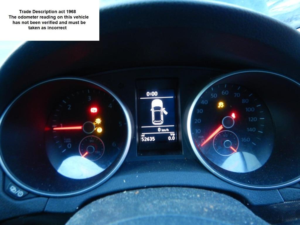 CD player Volkswagen Golf 6 2012 Hatchback 1.6 TDI