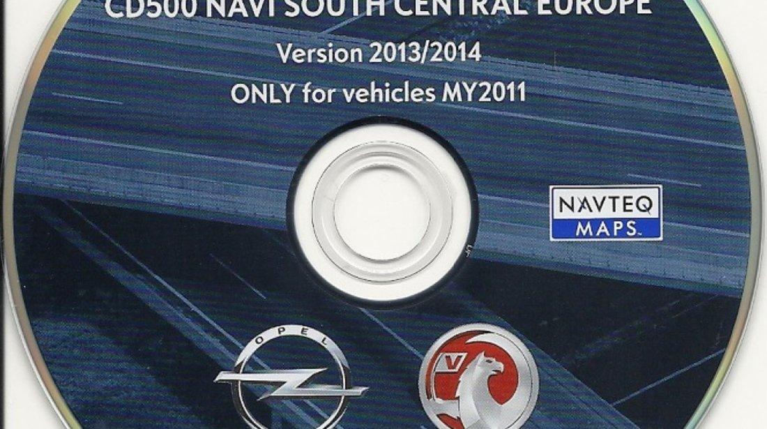 NAVTEQ Europe Opel DVD800 Version 2012 2013