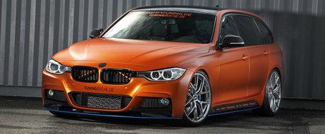 Ce-ai zice daca ti-am spune ca parti din caroseria acestui BMW au fost imbracate in Alcantara?