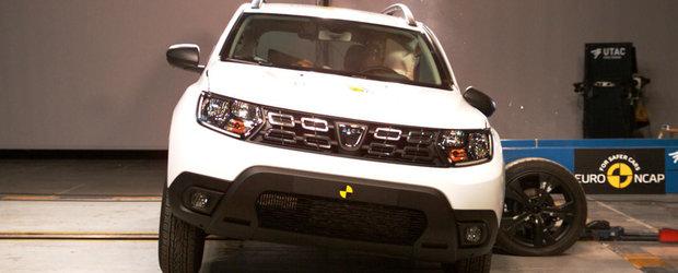 Ce alte automobile straine sunt la fel de sigure ca Dacia Duster, conform Euro NCAP