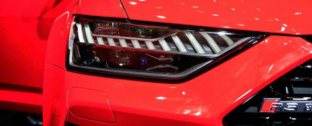Ce atata gri si negru? Un AUDI RS6 vopsit in rosu aprins atrage toate privirile la Salonul de la Frankfurt