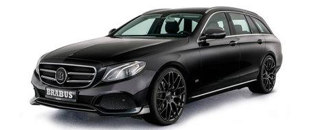 Ce bunatati a primit Mercedes-ul E-Class Estate de la specialistii Brabus