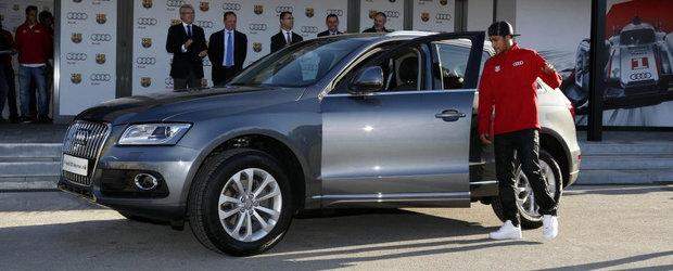 Ce cadouri le-a facut Audi jucatorilor de la Barcelona
