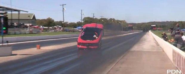 Ce inseamna Wheelie Bar? Cu siguranta acest Camaro are nevoie de una!
