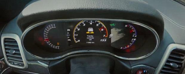 Ce mai sprint, te va lasa masca! Acceleratia unui SUV cu motor de 6.4 litri