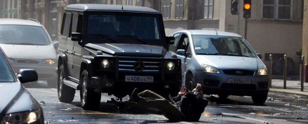 """Ce masini Mercedes-Benz pot fi admirate in noul film al seriei """"Die Hard"""""""