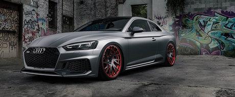 Ce Mercedes-AMG C63 sau BMW M4? Acest Audi RS5 cu jante Forgiato iti va potoli pofta de masini sport