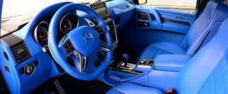Ce Mercedes modificat de Brabus a primit acest interior indraznet