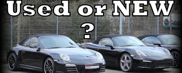 Ce merita sa cumperi: masina noua sau second-hand?
