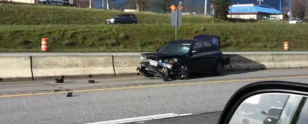 Ce pagube poate face un sofer beat pe o autostrada din SUA?