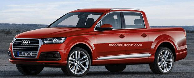 Ce parere ai despre un Audi Q7 pick-up?