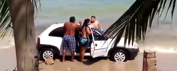 Ce patesc cocalarii din Brazilia daca merg cu masinile pe plaja?
