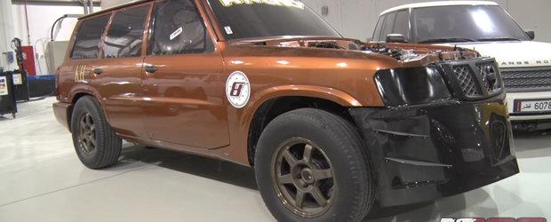 Ce pierde Nissan-ul asta de 2.000 de cai intr-o cursa de drag
