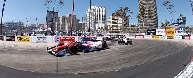 Ce poti face cu o camera GoPro: imagini de la Formula Drift si Indy Car