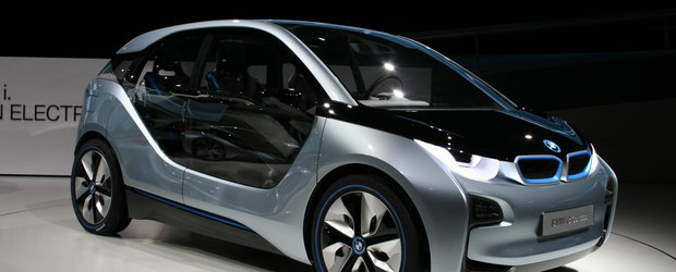 Ce pret de pornire are noul model electric BMW i3