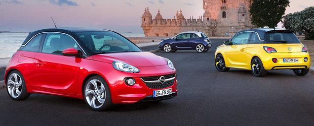 Ce preturi are noul Opel Adam in Romania