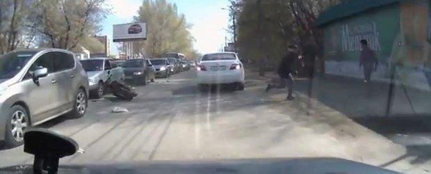 Ce sa faci daca esti un scuterist predispus la accidente