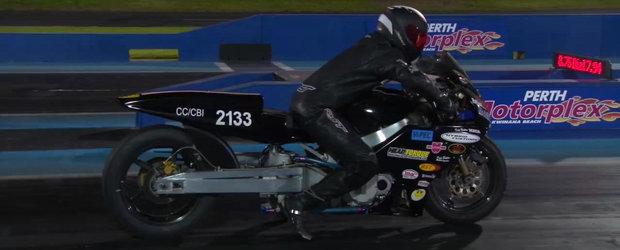 Ce se intampla cand uiti sa-ti montezi la motocicleta wheelie-bars?