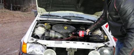 Ce se intampla daca folosesti Coca-Cola in loc de ulei la un motor de masina?