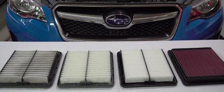 Ce se intampla daca montezi pe masina un filtru de aer sport? VIDEO cu cel mai tare experiment de pe internet