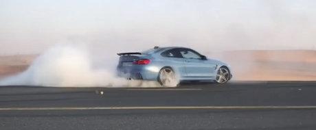Ce stiu sa faca cel mai bine arabii cu un BMW M4?