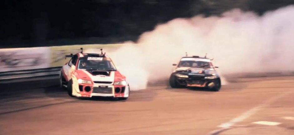 Ce te asteapta la Bucharest Grand Prix - pilotii de la Drift Allstars, in actiune