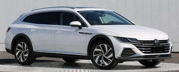 Cea mai asteptata masina de la Volkswagen a ajuns mai devreme pe internet. Acesta este noul Arteon Shooting Brake!