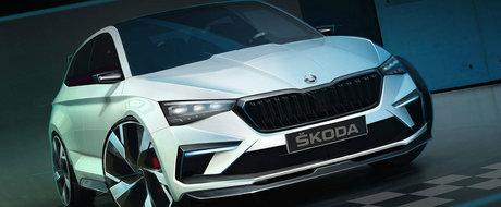 Cea mai buna dovada ca SKODA pregateste o arma anti GTI, RS si AMG. Conceptul debuteaza la Paris
