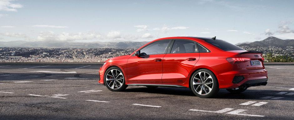 Cea mai ieftina berlina de la Audi a primit o versiune sport, cu 310 CP sub capota si 4x4 in standard. Cat costa in Romania noua masina