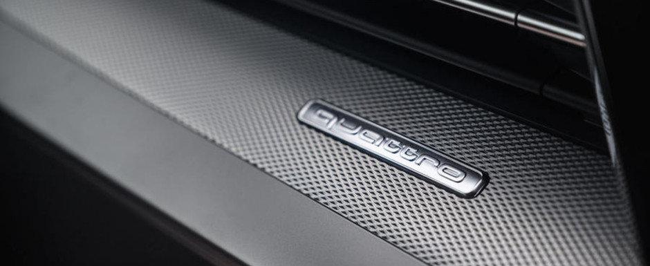 Cea mai ieftina berlina de la Audi va primi curand o varianta super-sport. Prima imagine oficiala cu noua masina de 450 CP a fost publicata chiar acum