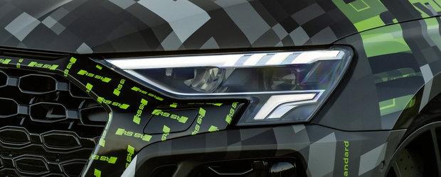 Cea mai ieftina berlina de la Audi va primi curand o varianta super-sport. Primele imagini cu noua masina de 400 CP au fost publicate chiar acum
