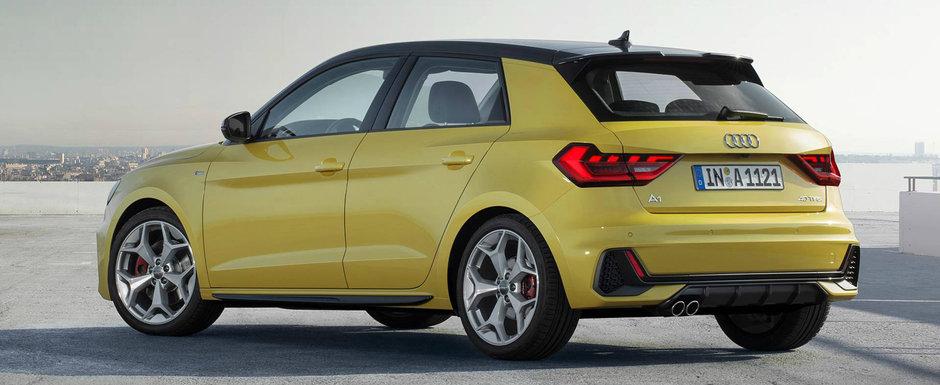 Cea mai ieftina masina de la Audi a debutat oficial. Noua generatie are un design controversat si ZERO motorizari diesel