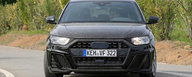 Cea mai ieftina masina de la Audi, surprinsa in teste fara camuflaj. Noua generatie aduce mult cu A6