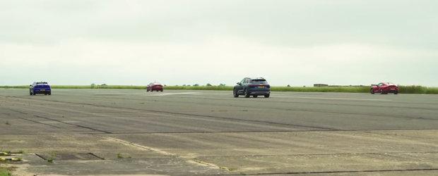 Cea mai ieftina masina de la Tesla bate Jaguar I-Pace, Toyota Supra si Audi e-tron de parca ar avea motoare diesel. VIDEO