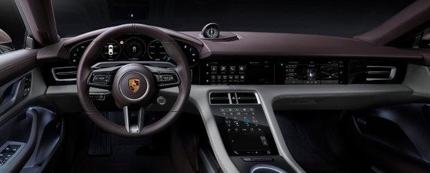 Cea mai ieftina masina electrica de la Porsche a debutat oficial. Galerie foto completa