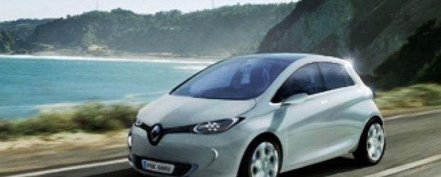 Cea mai ieftina masina electrica, Renault Zoe, este testata in Romania