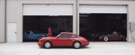 Cea mai inedita colectie de Porsche-uri include cate un 911 clasic din aproape fiecare culoare