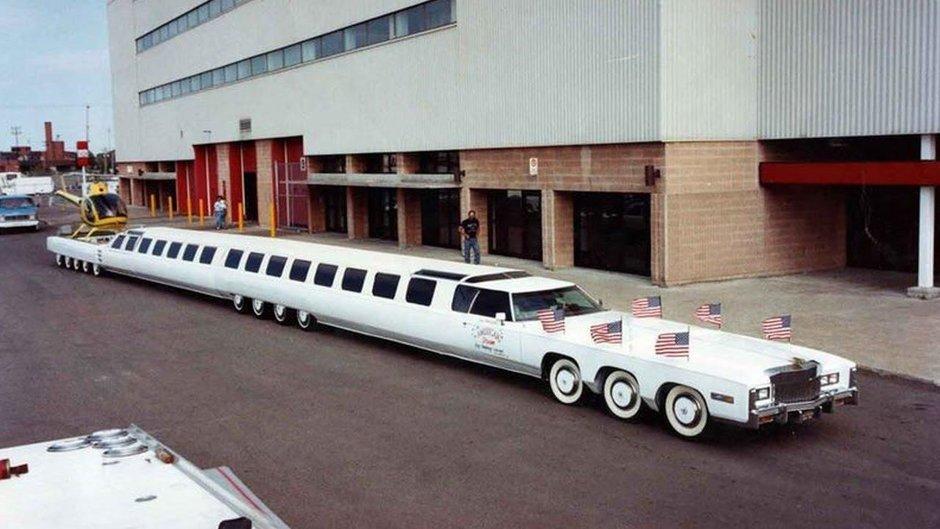 Cea mai lunga masina