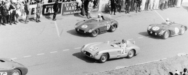 Cea mai mare tragedie din motorsport: 84 de victime in cursa de la Le Mans 1955