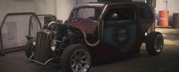 Cea mai nebuna masina de drift: un Ford cu motor de Saab