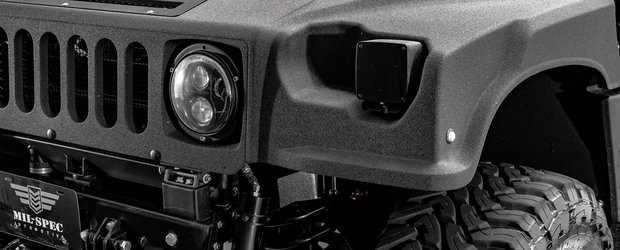 Cea mai noua achizitie a lui este un Hummer H1 cu totul special. Are la dispozitie 500 CP si 1355 Nm