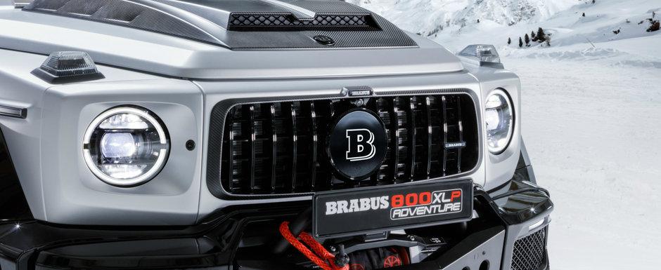 Cea mai noua creatie Brabus este un G-Class PICK-UP cu punti pe portale si 800 CP. Cat costa