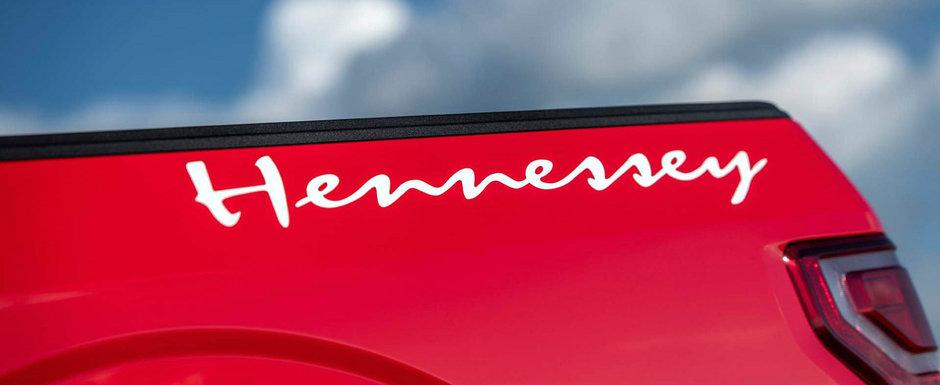 Cea mai noua creatie Hennessey este o camioneta cu mai multi cai decat un FORD GT. Cum arata