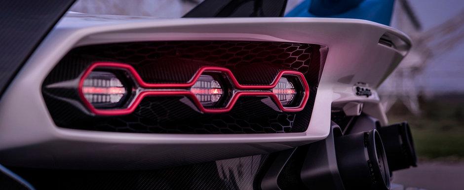 Cea mai noua masina construita de Lamborghini e nebunie curata: Are 770 de cai sub capota, iar parbrizul lipseste cu desavarsire