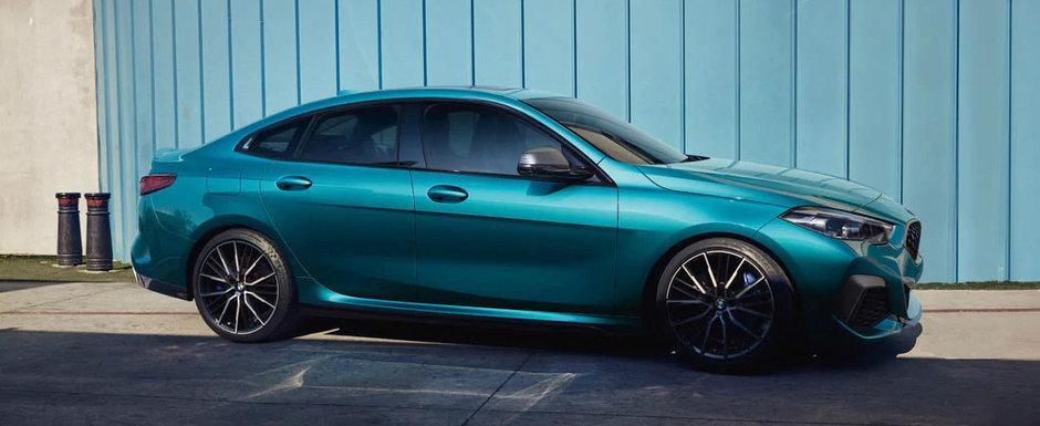 Cea mai noua masina cu tractiune fata de la BMW este acest superb coupe cu patru usi