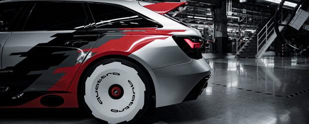 Cea mai noua masina de la Audi e nebunie curata. Foto ca sa te convingi si singur!