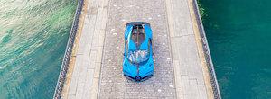 Cea mai noua masina de la Bugatti continua turul de forta prin Europa. Bolidul de 3 milioane de euro a ajuns in Elvetia