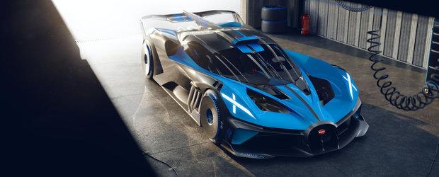 Cea mai noua masina de la Bugatti e nebunie curata: are 1850 de cai sub capota si accelereaza de la 0 la 500 km/h in 20 de secunde!